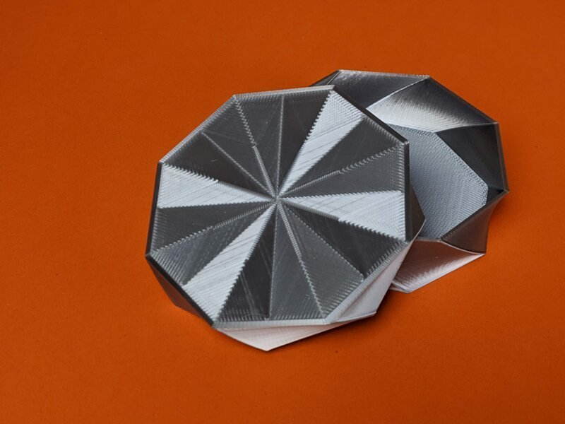 octo-twist-trinket-box-geeetech-silk-silver.jpg Download free STL file Octo Twist Trinket Box • Template to 3D print, printerthinker