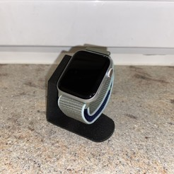 Télécharger fichier imprimante 3D gratuit Apple Watch Stand sans chargeur, NGprintec