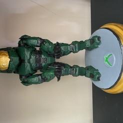 Descargar archivos 3D gratis Master chief holder, ReeDesign