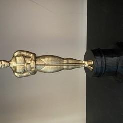 Descargar STL gratis Estatuilla del Oscar, ReeDesign