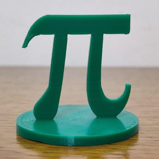 Descargar archivo 3D gratis Número de Pi con base, sebas141