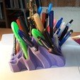 Download free STL file Pen and Pencil Holder  • 3D print object, embartusch
