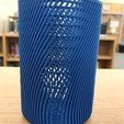 Download free 3D printing files Square Pencil Cup (Tall), potts