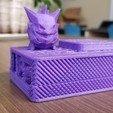 Download free 3D printing models Gengar Low-poly Pokemon, potts