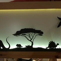 20201229_204619.jpg Télécharger fichier STL Dinosaure Ikea Kura headboard (tête de lit 6 parties) • Objet pour impression 3D, OBrotherCreations