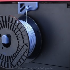 BDF-20151230-001-filamentspool.jpg Télécharger fichier STL gratuit Porte-filament Da Vinci 1.0 PRO Grandes bobines • Plan à imprimer en 3D, briandragtstra