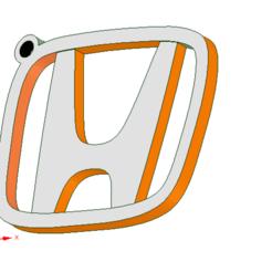 Download 3D printing models Logo key ring, anubis_7392