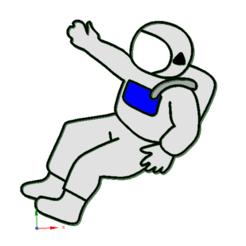 Télécharger fichier imprimante 3D Coupeur de plateau pour les astronautes., anubis_7392
