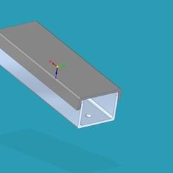 Télécharger fichier 3D gratuit canal organisateur de câbles, punkain86