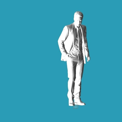 Download free STL file Suite guy • 3D print object, punkain86