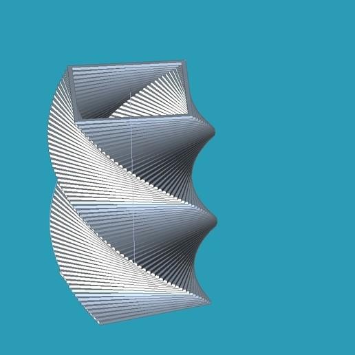 Download free 3D model GEOMETRY SQUARE PENCILCASE, punkain86