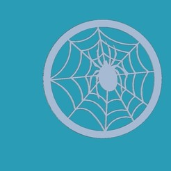 uglass.jpg Download STL file spider underglass • Object to 3D print, punkain86