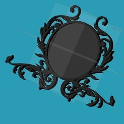 Descargar diseños 3D gratis marco de espejo, punkain86