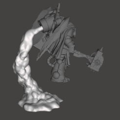 Download 3D printing models Assault Marine Smoke Stands - Single Exhaust, moodyswing