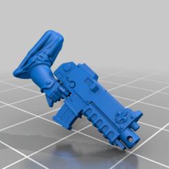 Download free STL file battle nun bolter hand • 3D printable design, moodyswing