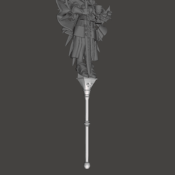 Download 3D printer files Sisters of Battle Combat Pole, moodyswing
