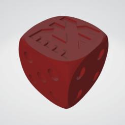 khorne.png Download STL file Khorne 16 MM DICE FOR 40K • 3D print object, moodyswing