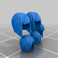 hair.png Download free STL file Sisters of Battle Veteran heads and hair • 3D printing design, moodyswing