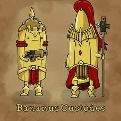 pic.jpg Download free STL file Banana Boys • 3D printing model, moodyswing