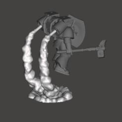 Download 3D model Assault Marine Smoke Stand, moodyswing