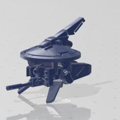 Descargar modelo 3D gratis Puntero láser comunista espacial Frisbee, kohiproductions