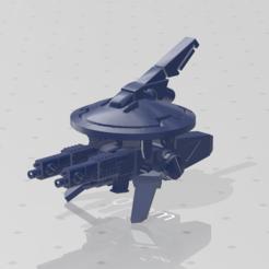 Descargar archivos STL gratis Frisbee de carabina doble de los comunistas del espacio, kohiproductions