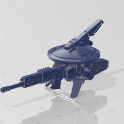 Descargar Modelos 3D para imprimir gratis Frisbee de rifle comunista espacial, kohiproductions