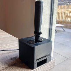 IMG_5309.JPG Download STL file NEW RALLY HANDBRAKE V2.0 - PC/PS/XBOX • 3D printing model, GoldenBlack