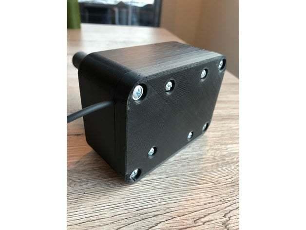 featured_preview_IMG-2598.JPG Download OBJ file USB Rally Handbrake • 3D print template, GoldenBlack