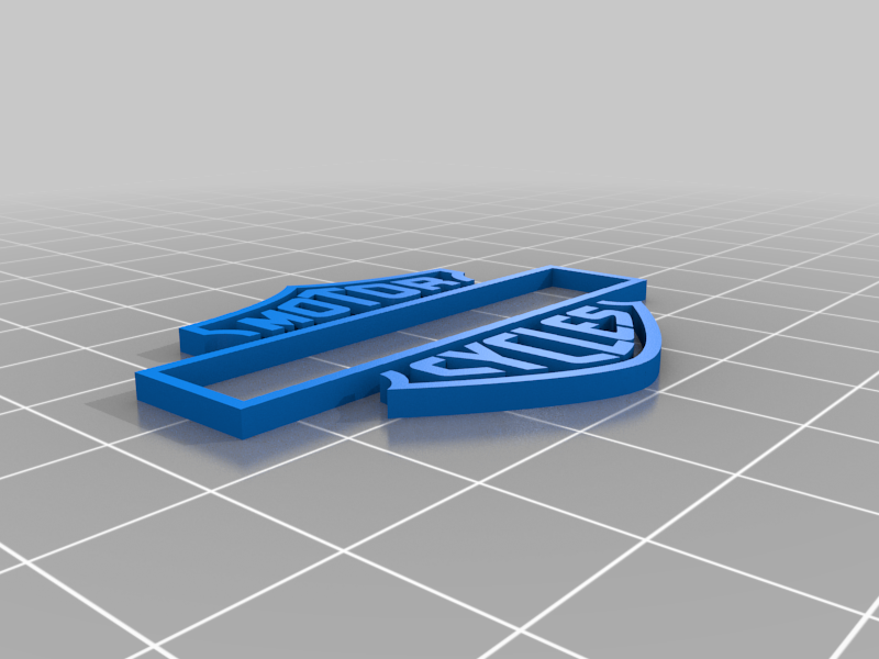 orange.png Download free STL file Harley Davidson Ashtray • 3D printable template, cedrichaefliger