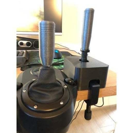 featured_preview_IMG-2599.JPG Download OBJ file USB Rally Handbrake • 3D print template, GoldenBlack