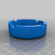 ashtray.png Download free STL file Harley Davidson Ashtray • 3D printable template, cedrichaefliger