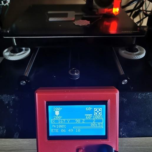 Télécharger fichier STL gratuit Anycubic I3 Mega S LCD 12864 • Objet à imprimer en 3D, inZane