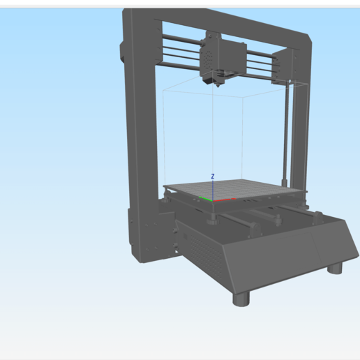 Download free 3D printer model Anycubic I3 Mega Bed Model Simplify3d, inZane