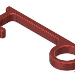 Schermata 2020-04-23 alle 10.16.28.png Télécharger fichier STL gratuit GB 3D - Mains libres - Ouvreur de porte - Bouton de pression • Objet imprimable en 3D, bgiovanny