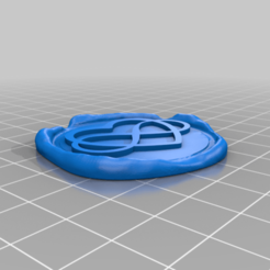 Letter_Seal_-_Infinity_Heart.png Download free STL file Letter Seal/ Briefsiegel Infinity Heart • 3D printer template, In-Produkt