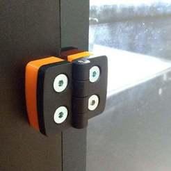 Raise3D_N1_Hinge_Extension_2.jpg Télécharger fichier STL gratuit Relever3D N1 Extension de la charnière • Design pour imprimante 3D, In-Produkt