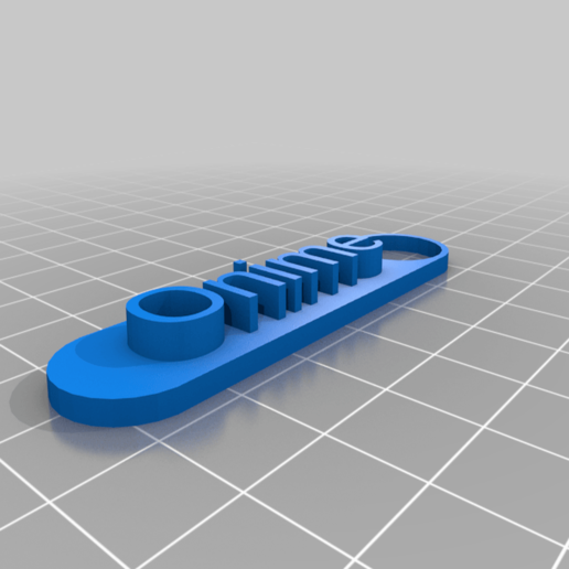 Download free 3D printer designs My Customized Keychain, denis216051