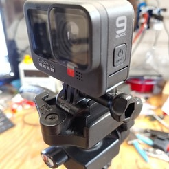 20201103_181000_HDR.jpg Download STL file GoPro Hero 9 Universal Tripod Mount Adaptor • Object to 3D print, bretware