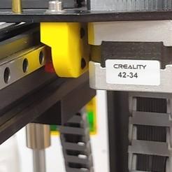 20200215_204506_HDR.jpg Télécharger fichier STL Ender 5 & 5 Plus Linear Y Bracket • Modèle imprimable en 3D, bretware