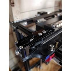 Twotrees2.jpg Download STL file Twotree Belt Tensioner Adapter Brackets For Ender 5 • Template to 3D print, bretware