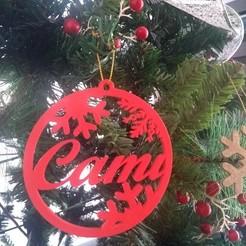 Télécharger fichier STL gratuit décoration de Noël • Objet à imprimer en 3D, Centro3D