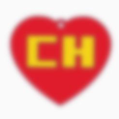 Download free 3D printing models Chapulin Colorado logo, Centro3D