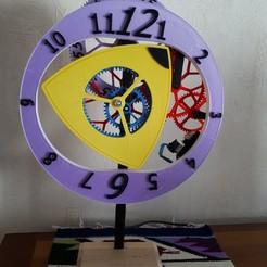 Descargar Modelos 3D para imprimir gratis Reloj de Trocho, fontaine28