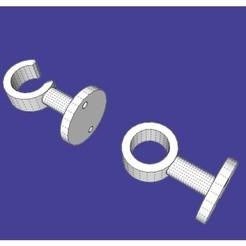 Télécharger fichier STL gratuit soporte cortina • Objet pour impression 3D, emilianoperalta