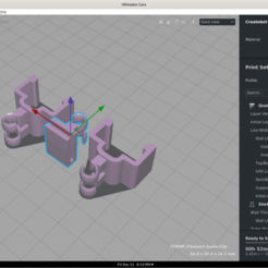 Screenshot from 2020-12-11 18-13-51.png Télécharger fichier OBJ gratuit Guide des filaments - Clip de rail de 20 mm • Plan pour impression 3D, jdheron87