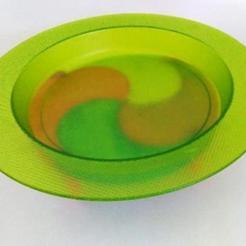 02.jpg Download free STL file Plate enhancer/ Réhausseur d'assiette • 3D printing template, ALTYLAB