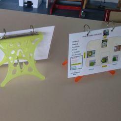 01.JPG Download free STL file Menu holder / Menu station • 3D printable template, ALTYLAB