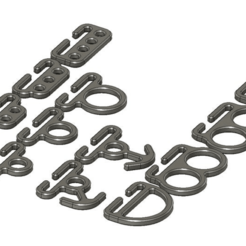 Descargar archivo 3D gratis Accesorios de sujeción de MOLLE, colinp_hughes