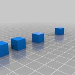 Descargar Modelos 3D para imprimir gratis Cubos de prueba de retracción, colinp_hughes